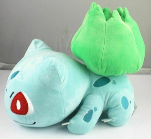 "Cuddly Pokemon Plush 12"" Cool Grass Bulbasaur Doll Stuffed Animals Soft Kid Toy"