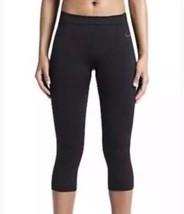 Nike pro Hypercool Limitless Capris L Negro Ajustado Pantalones Leggings Corto - $30.47