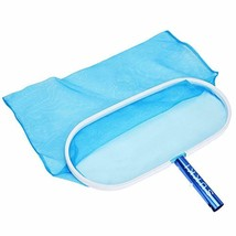 Heavy Duty Pool Net Deep Bag Pool Skimmer Leaf Cleaning Pool Rake Fine - $20.52
