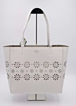 Kate Spade New York Faye Drive Hallie White Daisies Perforated Leather T... - $168.00