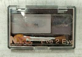 NYC EYE 2 EYE Color & Contour Eye Shadow Makeup 804B BLUE SMOKE  0.07 oz... - $5.92