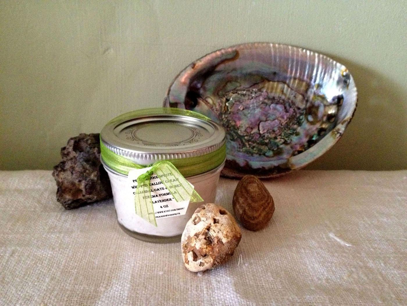 Jake's Blend Buffalo & Mutton Tallow Cream - Workman's Healing Hands Blend 4oz - image 2