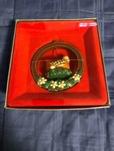 1987 New in Box - Enesco Christmas Ornament - Three French Hens - #556440 - $8.90