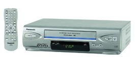 Panasonic PV-V4523S 4-Head Hi-Fi VCR (2003 Model) - $98.00