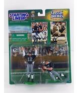 Starting Lineup Ken Stabler Dave Casper Oakland Raiders Classic Doubles ... - $29.69