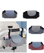 Baby Stroller Large Capacity Storage Bag Diaper Bag Portable Storage Pocket - £21.42 GBP
