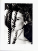 Helmut Newton 1983 SIGOURNEY WEAVER Film Strip Portrait Black and White Duotone  - $19.99