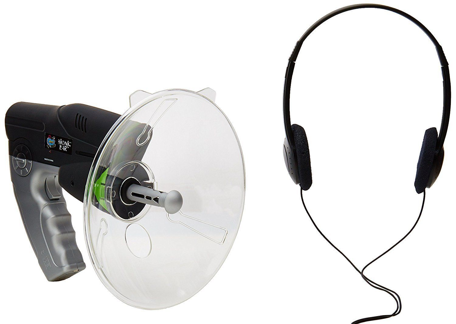 Parabolic Microphone Spy Listening Device Bionic Ear Sound Amplifier Gadget