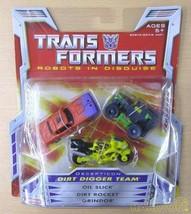 Hasbro Transformers 0653569206484 Dirt Digger Team Robot Soft Vinyl Doll - $106.81