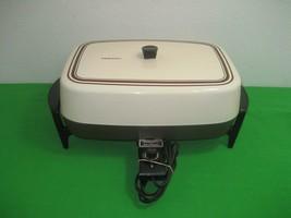 """Presto 15""""Electric Skillet Nonstick Surface Silver Stone - Model 0681012 - $18.65"""