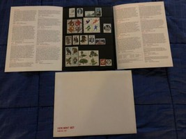 1978 USPS Mint Set of Commemorative Stamps - Complete w/ Folder & Stamps  - $5.44