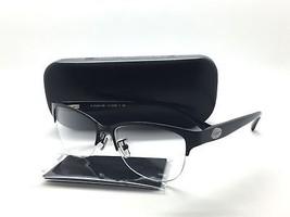 Coach HC 5066 9192 Satin Black Semi Rimless Black Eyeglasses 53mm - $67.87