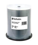 Verbatim 95252 Hub-Printable 700MB 80-Minute 52x CD-Rs, 100-ct Spindle - $44.73
