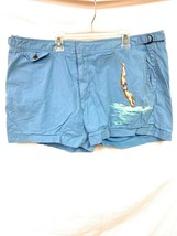 Men's Polo Ralph Lauren Swimwear Bathing Suit Blue Diving Water Size 38 - $59.99