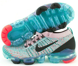 Nike Air Vapormax Flyknit 3 Womens Running Shoes Size 6 South Beach AJ69... - £99.50 GBP