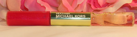 New Michael Kors Sexy Amber Eau De Parfum Roll on Perfume Lip Luster duo... - $18.99