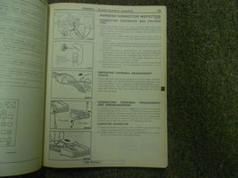 1992 1996 MITSUBISHI TRUCK Service Reoair Shop Manual VOLUME 2 FACTORY OEM 92 96 image 9