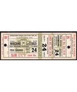 ROCKY MARCIANO vs ROLAND La STARZA Full Ticket Sept 24,1953 Hvy.Champion... - $118.80