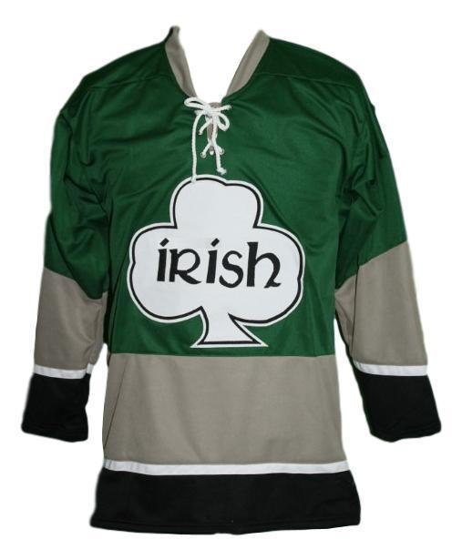 Team ireland irish shamrock hockey jersey green   1