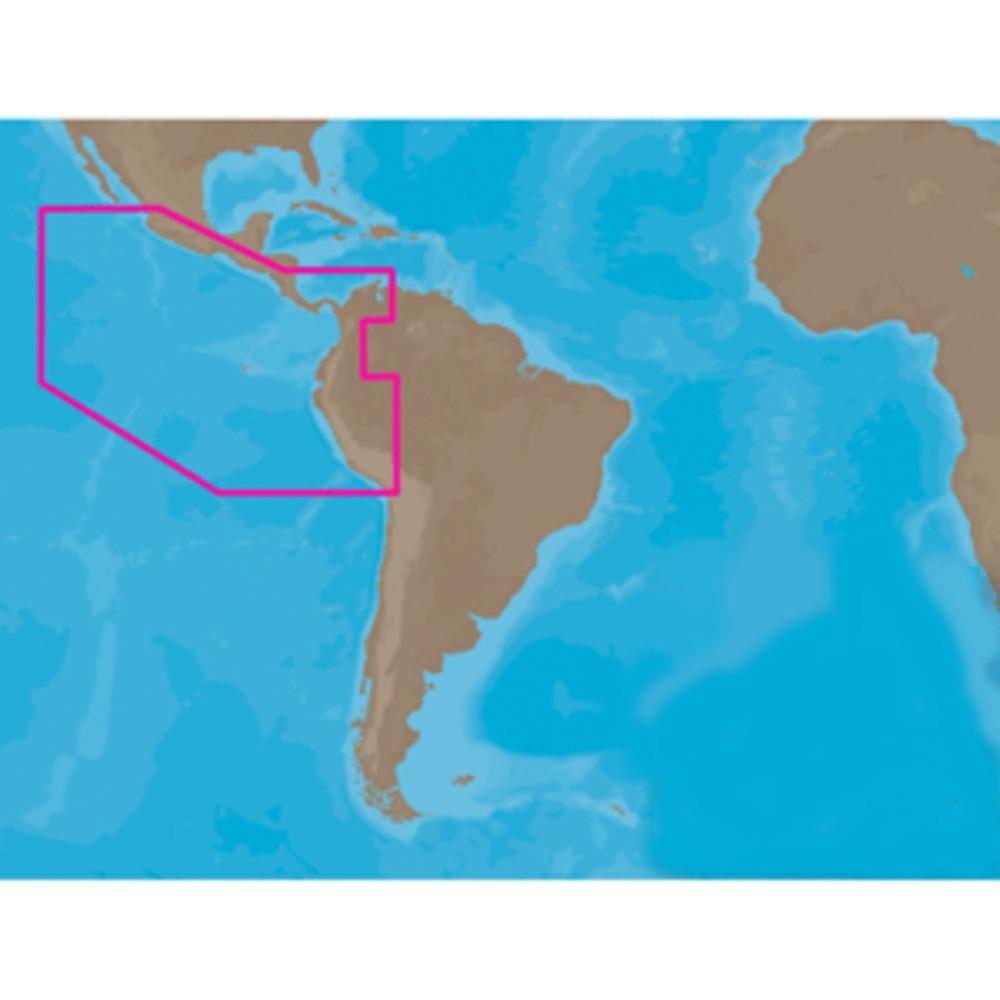 C-MAP NT+ SA-C001 - Peru-Puerto Vallarta-Puerto Bolivar - C-Card