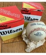 Lot of 2 NEW Vintage WILSON A1174 Official Little League Baseballs SHIPS... - $24.70