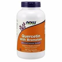 NOW Supplements, Quercetin with Bromelain, Balanced Immune System*, 240 Veg C... - $43.83
