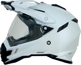 Afx FX-41DS Solid Helmet Pearl White Xs - $158.91