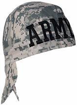 Army ACU Digital Camouflage Doo Rag and Sticker Military Skull Cap Camo Durag Wr - £7.63 GBP