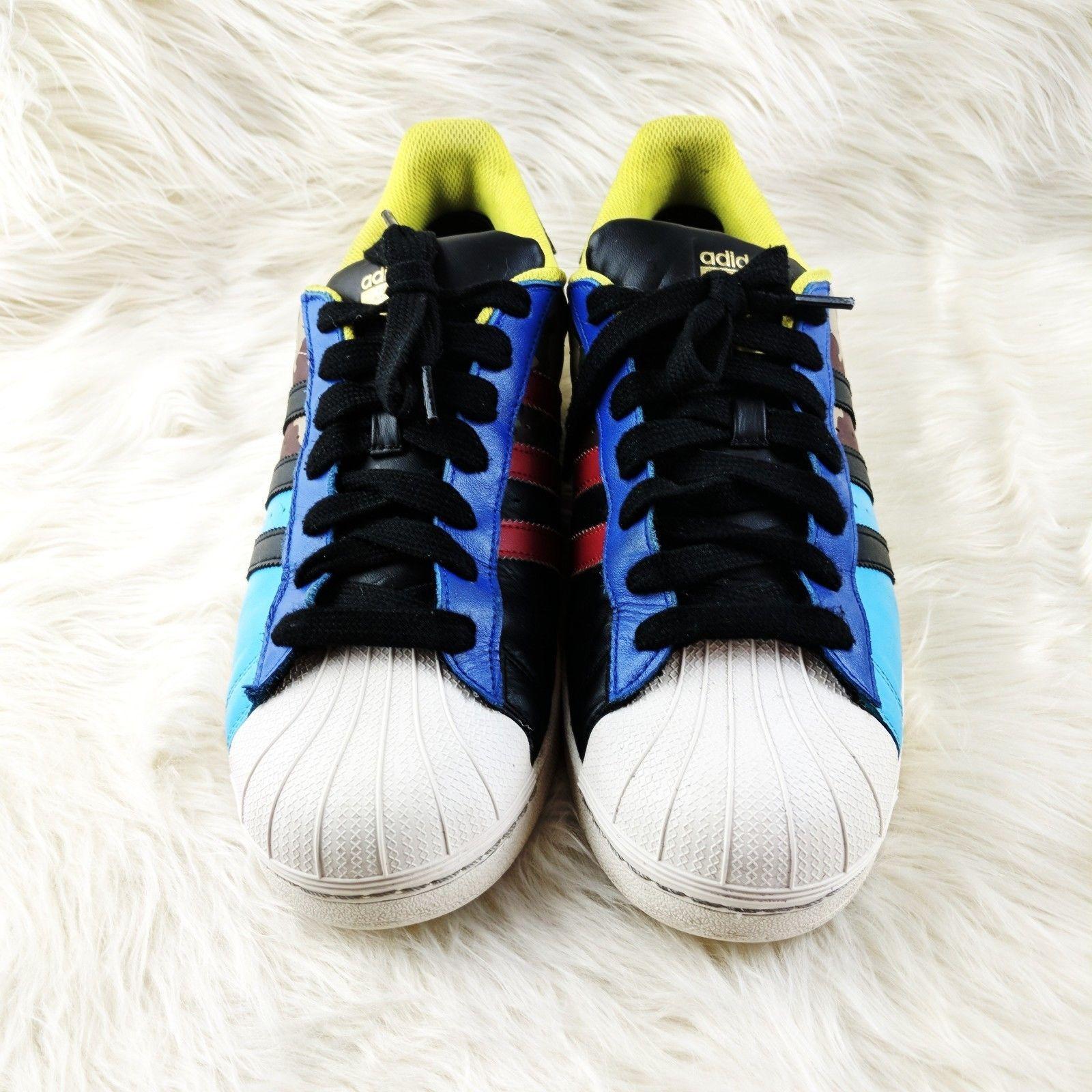 Adidas Superstar rareza Pack negro rojo azul y 39 artículos similares