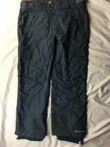 Womens Columbia Arctic Trip Omniheat Snow Pants Blue Grey Size SHORT L - $46.74