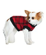 Adorable Puppy Sweater Vest by Canada Weather Gear Pet Apparel Plaid Bra... - $30.00