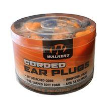 Walkers Foam Ear Corded Plugs 50 Pair Jar - $35.97