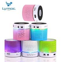 LED MINI Bluetooth Speaker BS008 Wireless Portable Music Speaker Sound B... - $7.80
