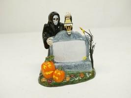 Dept 56 Halloween Village Sign Figurine Grim Reaper #56.53044 - $14.99