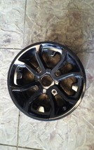 14 inch black aluminium wheel