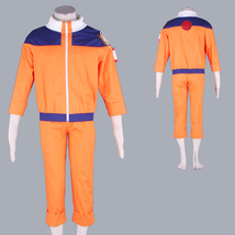 Naruto Uzumaki mens suit anime Halloween cosplay costume party wear - $46.27