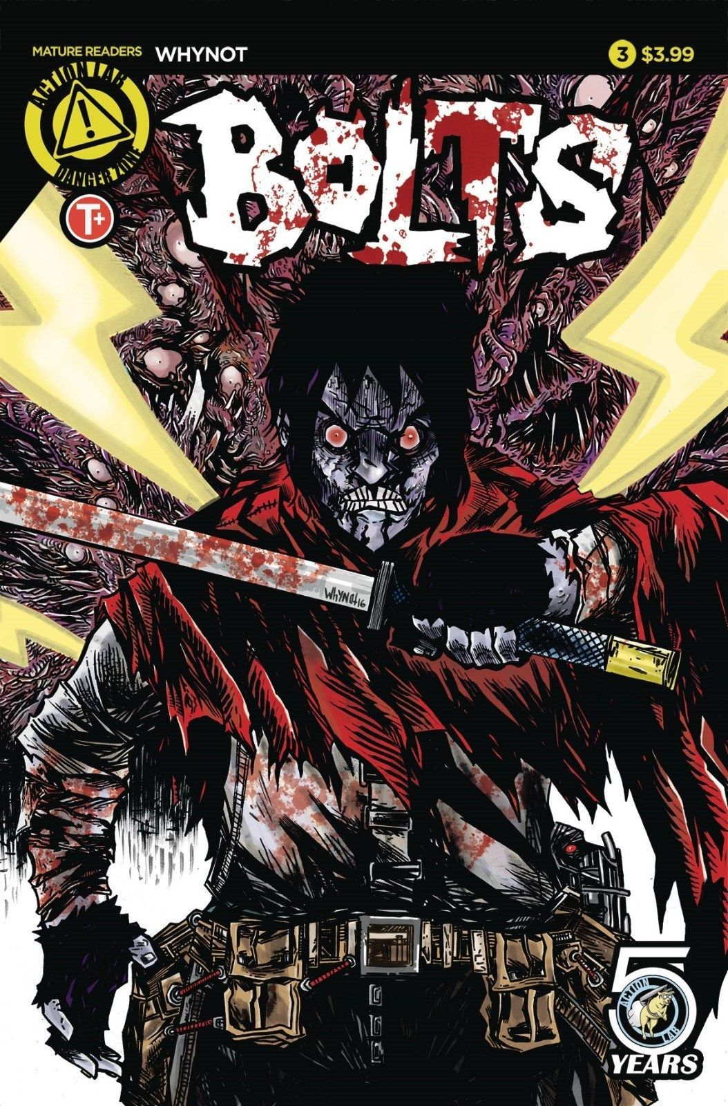 BOLTS #3 ACTION LAB   rel date 08/10/2016