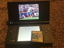 Nintendo DSi Black With 2 Games DS Game Boy Madden & Wappydog - $44.54