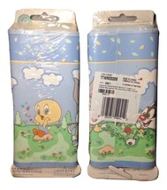 X2 Packs of VTG Looney Tunes Babies Bugs Bunny Tweety Sylvester Wallpape... - $39.99