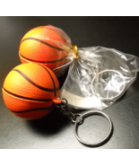 Basketball Shaped Key Chain Fob with the Home Depot Logo in White Lot of... - $9.99