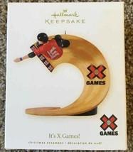 Hallmark Keepsake It's X Games ESPN Christmas Ornament New - $9.89