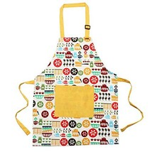 Kids Apron Kids Cook Aprons with Front Pocket and Adjustable Neck Strap ... - $13.34