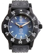 Smith & Wesson Black Tactical Analog Police Watch - $59.99