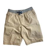 Carters Boys Khaki Tan Pull on Elastic Waist Drawstring Shorts 7 - $11.87