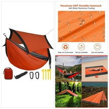 OUTFANDIA Camping Hammock with Mosquito Net,Double Persons Iqammocking B... - $41.86