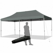 Durable 10'x20' Adjustable Folding Heavy Duty Sun Shelter w/Carrying Bag... - $447.60