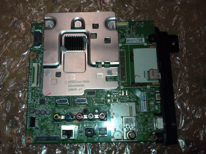 EBT64237702 Main Board From LG 49UH6100-UH.BUSFLOR LCD TV