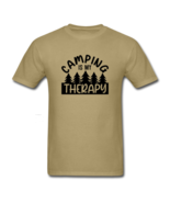 Camping Is My Therapy T Shirt - $21.99