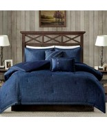 Woolrich Perry Oversized Denim Comforter Sham Pillow Set  Blue  Twin/Twi... - $117.60