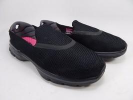 Skechers Go Walk 3 Women's Slip- On Walking Shoes Sz US 9.5 M (B) EU 39.5 Black